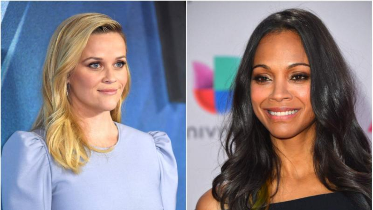 From Scratch : Zoe Saldana et Reese Witherspoon collaborent avec Netflix