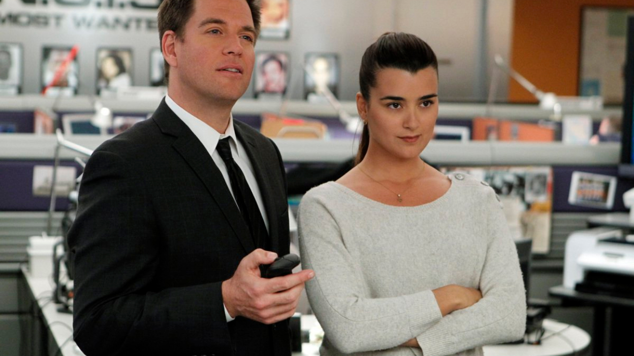 Michael Weatherly et Cote de Pablo ensemble sur CBS.