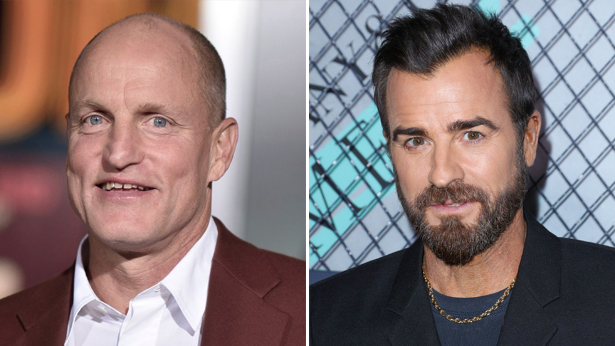 The White House Plumbers : Woody Harrelson et Justin Theroux dans la série.